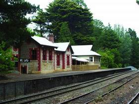 Mount Lofty Railway Station - SA Accommodation