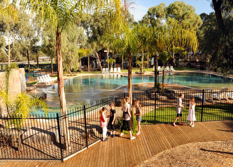 BIG4 Renmark Riverfront Caravan Park - SA Accommodation