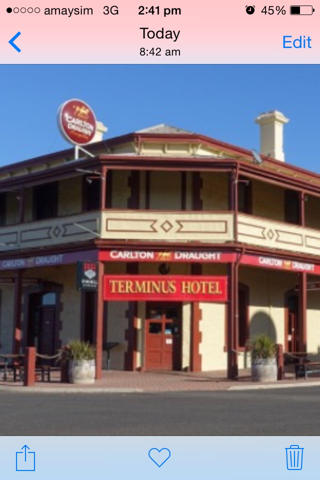 The Terminus Hotel Motel - SA Accommodation