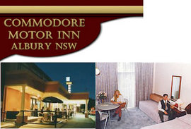 Commodore Motor Inn - SA Accommodation