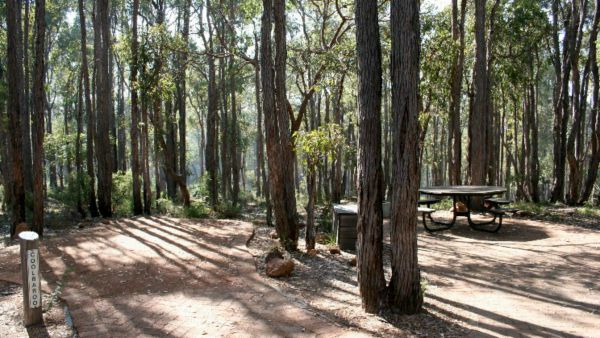 Perth Hills Centre Campground at Beelu National Park