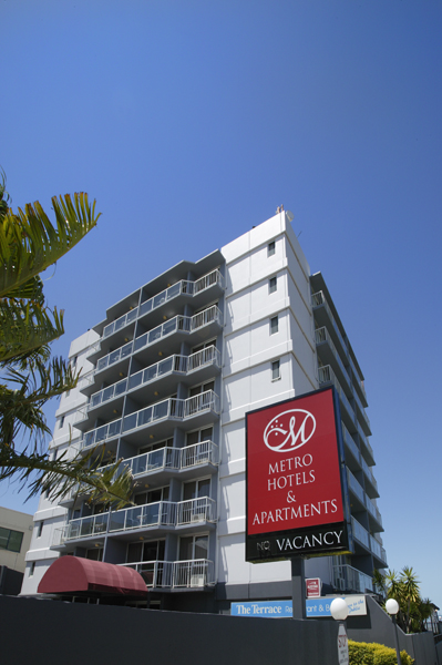 Metro Hotel  Apartments Gladstone - SA Accommodation