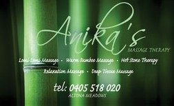 Anikas Massage Therapy