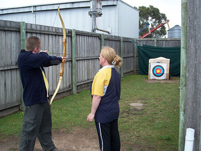 Bairnsdale Archery Mini Golf  Games Park - SA Accommodation