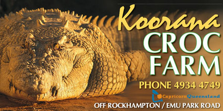 Koorana Saltwater Crocodile Farm - SA Accommodation