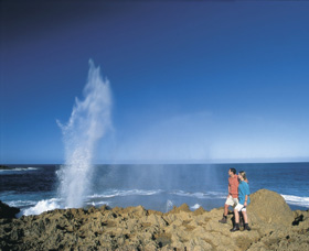 The Blowholes Carnarvon - SA Accommodation