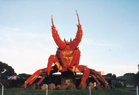 The Big Lobster - SA Accommodation