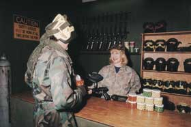 Indoor Skirmish - Paintball Sports - SA Accommodation