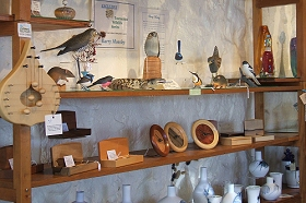 Touchwood Craft Gallery Gifts and Cafe - SA Accommodation