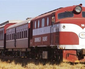 Old Ghan Heritage Railway and Museum - SA Accommodation