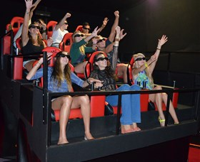 7D Cinema - Virtual Reality - SA Accommodation