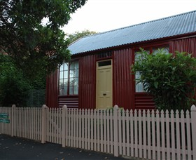 19th Century Portable Iron Houses - SA Accommodation