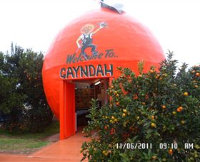 Gayndahs Big Orange - SA Accommodation