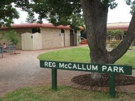 Reg McCallum Park - SA Accommodation