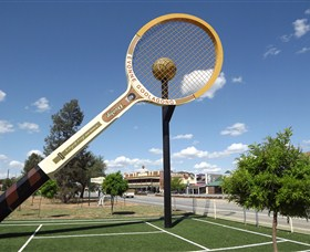 Barellans Big Tennis Racquet - SA Accommodation