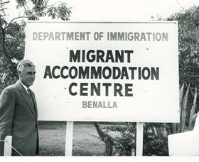 Benalla Migrant Camp Exhibition