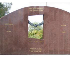 Cowra Italy Friendship Monument - SA Accommodation