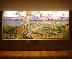 Adaminaby Memorial Hall Stage Curtain - SA Accommodation