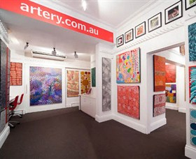 The Artery Aboriginal Art - SA Accommodation