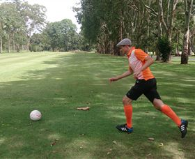 FootGolf at Teven Valley Golf Course - SA Accommodation