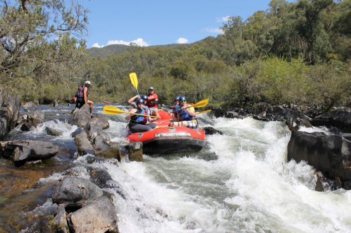 Rafting Australia - SA Accommodation