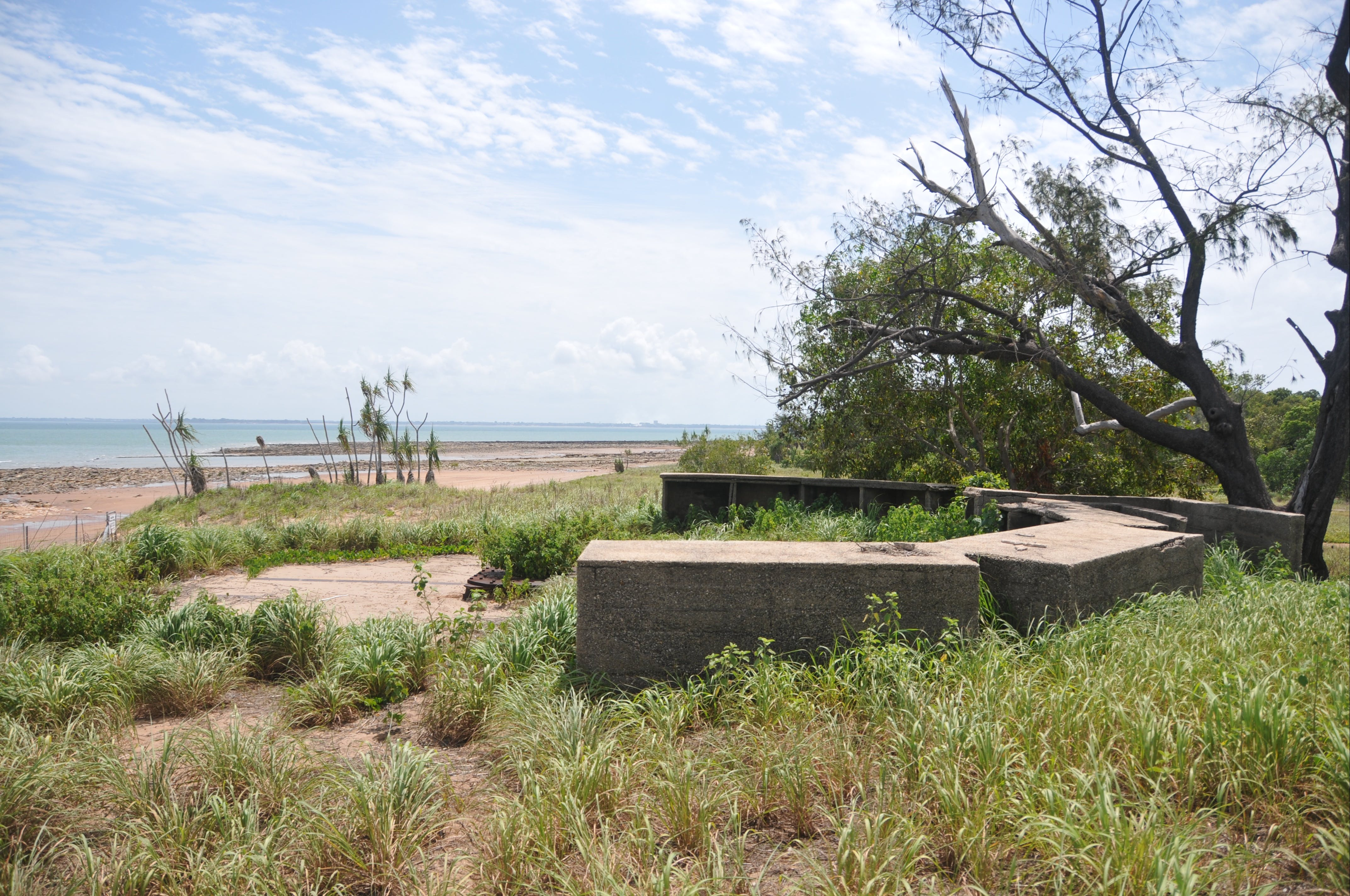 WWII Gun Emplacement Wagait Beach - SA Accommodation