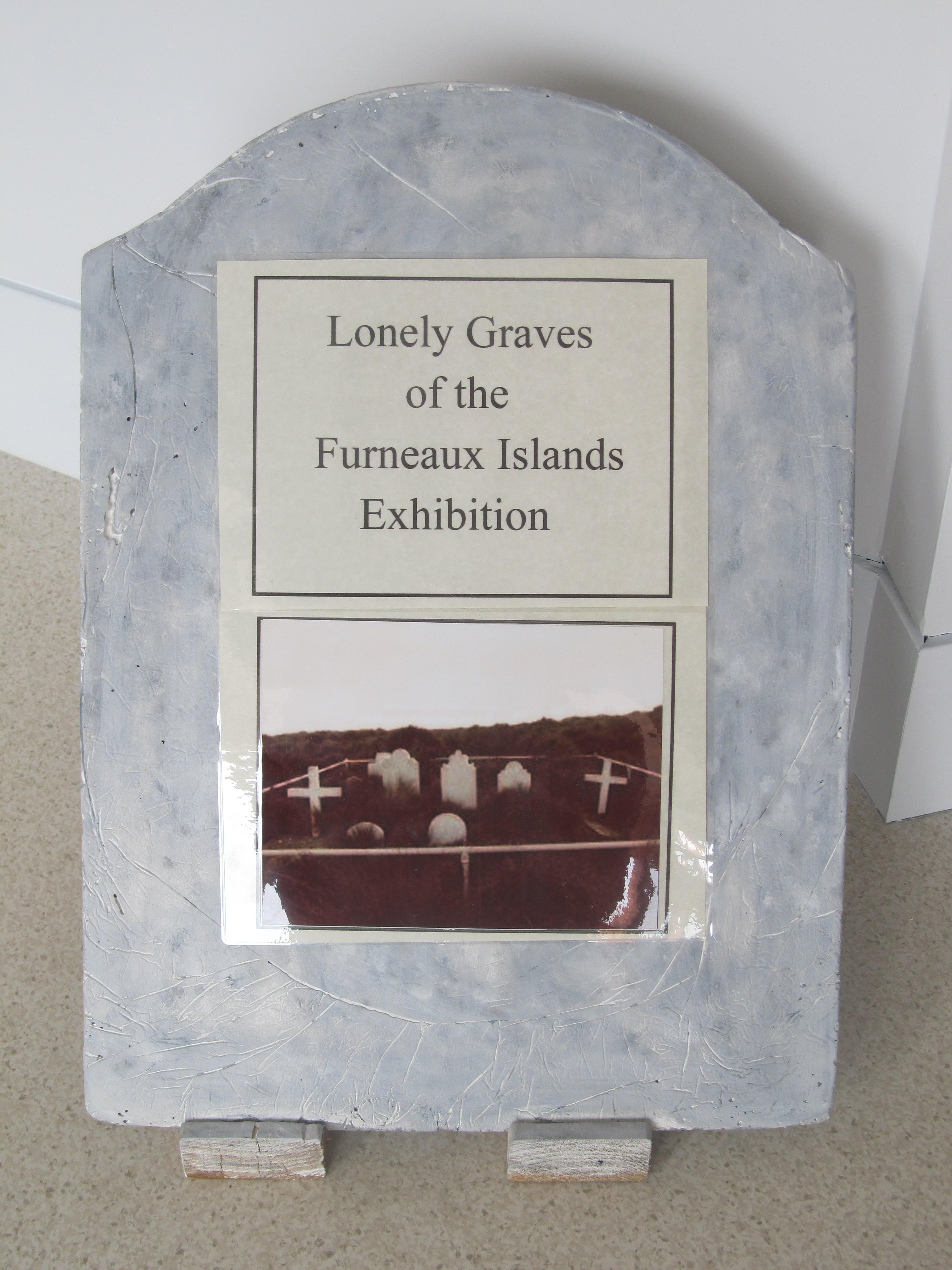 Lonely Graves of the Furneaux Islands Exhibition - SA Accommodation