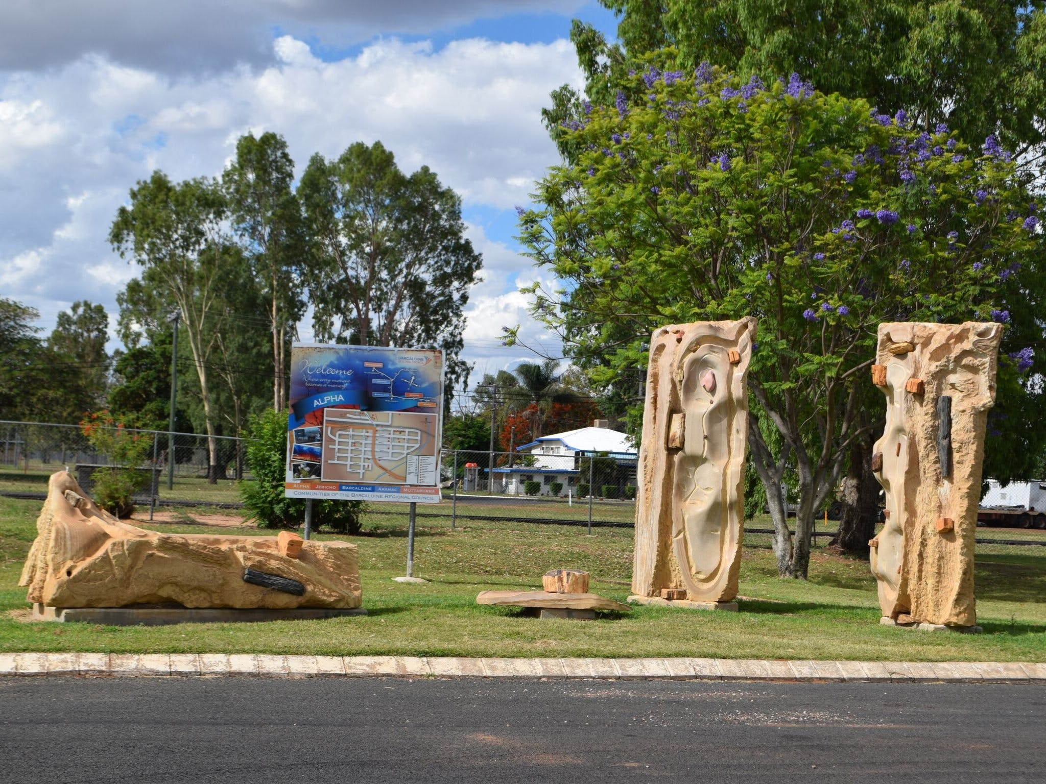 The Fossilised Forest Sculpture - SA Accommodation