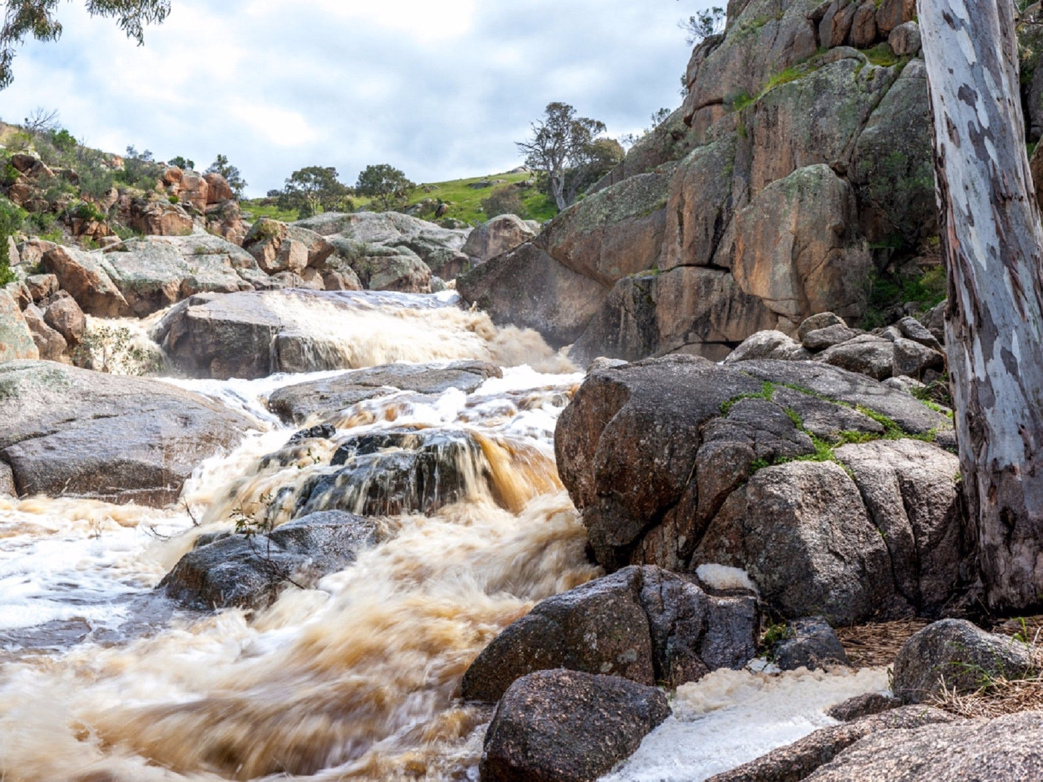 Mannum Waterfalls - SA Accommodation