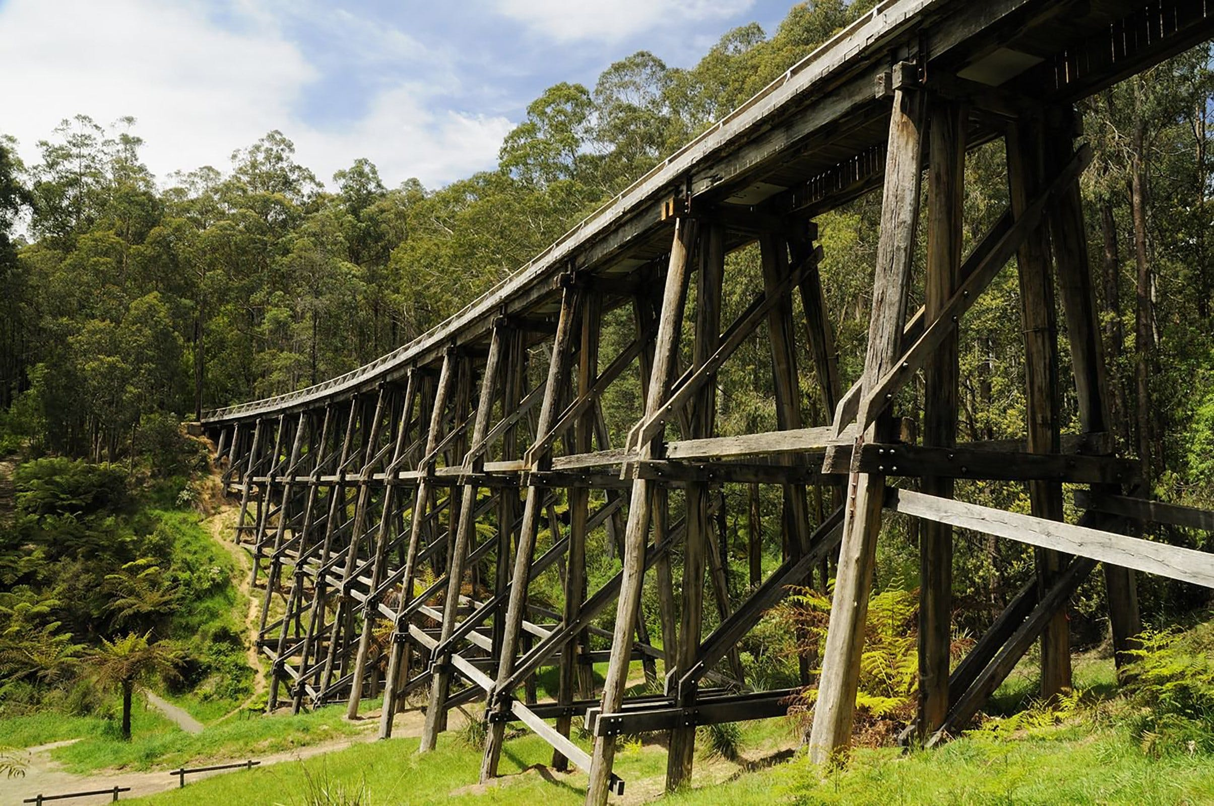 Noojee Trestle Bridge - SA Accommodation