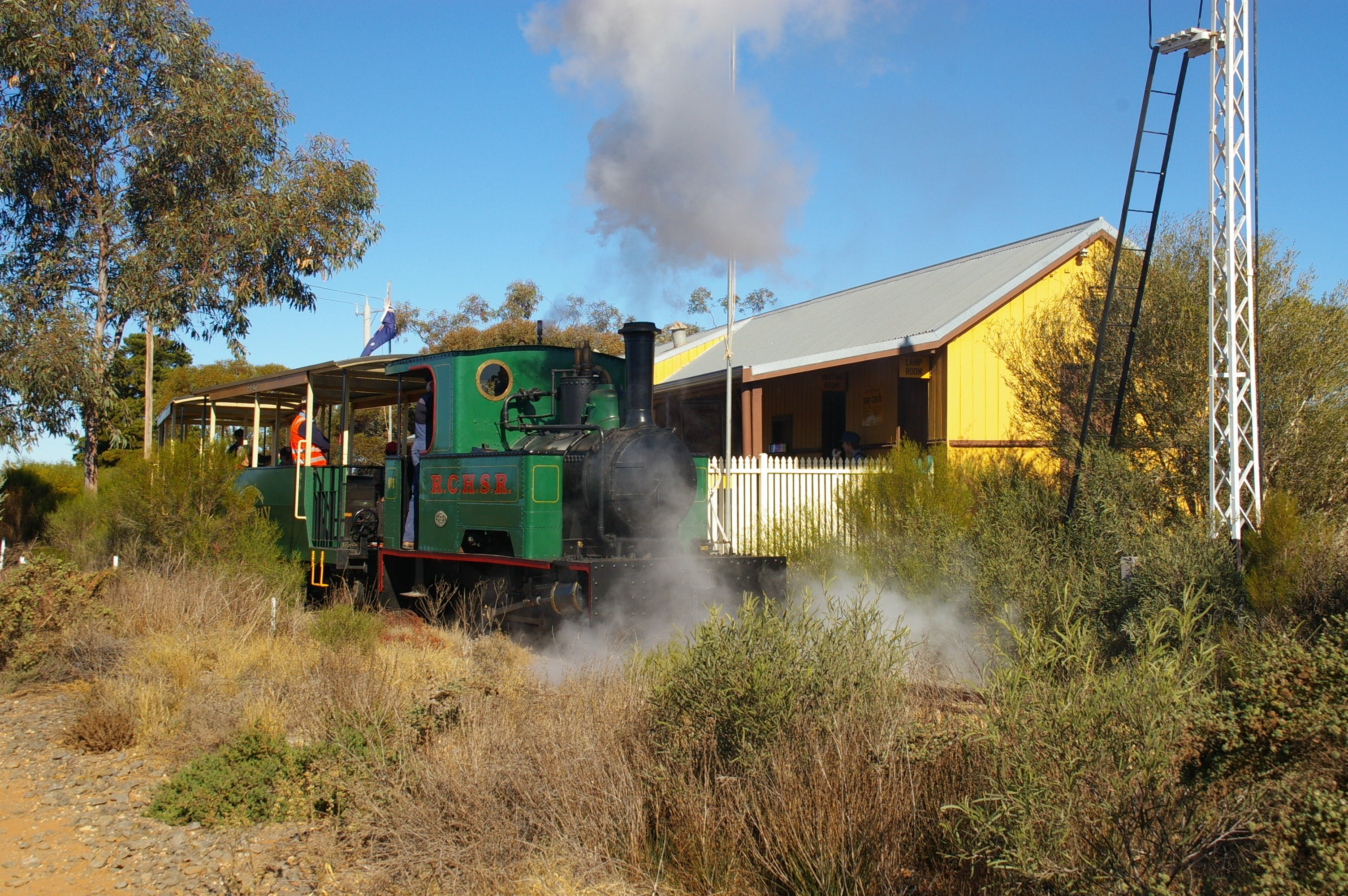 Red Cliffs Historical Steam Railway - SA Accommodation