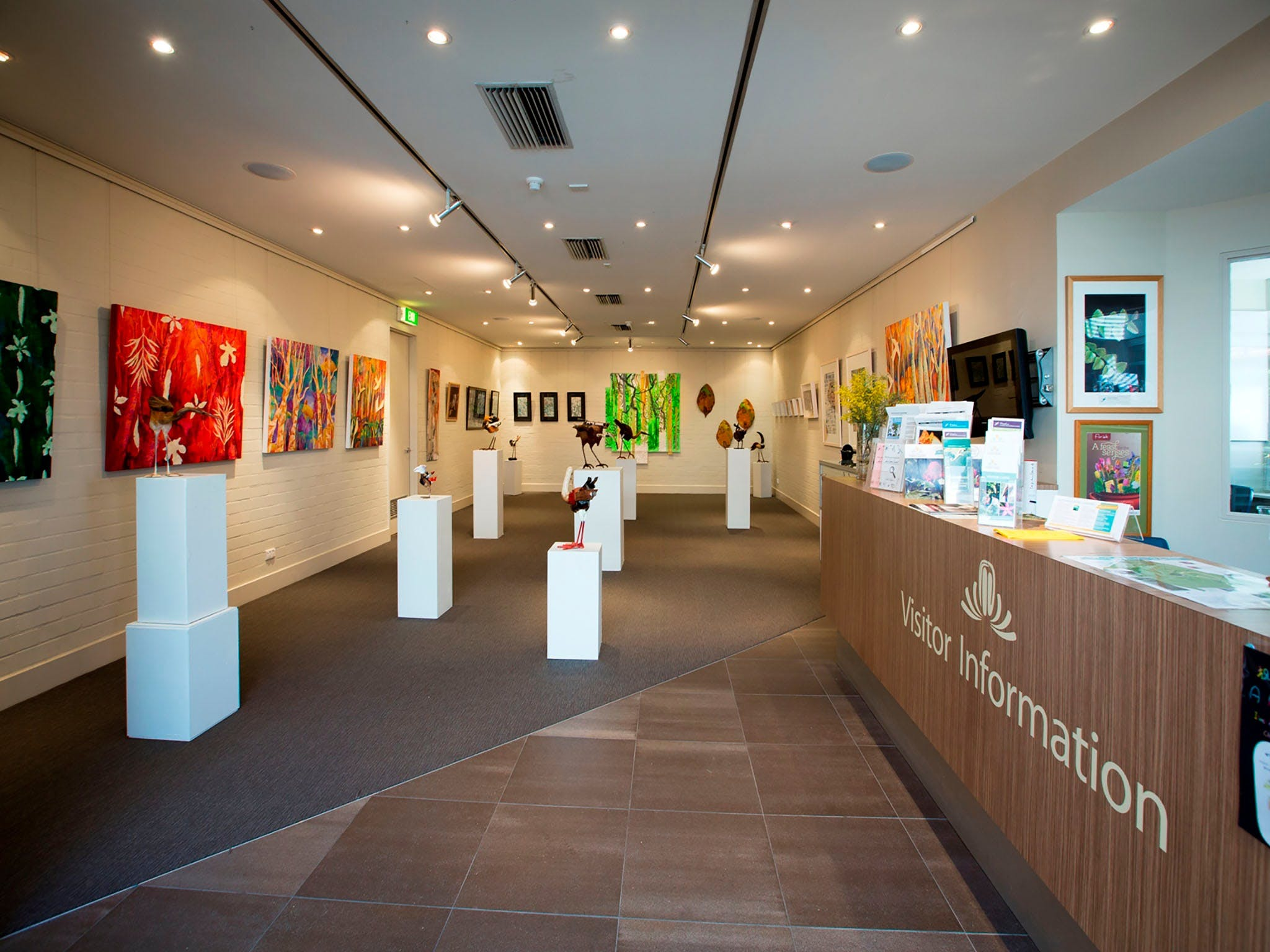 Australian National Botanic Gardens Visitor Centre Gallery - SA Accommodation