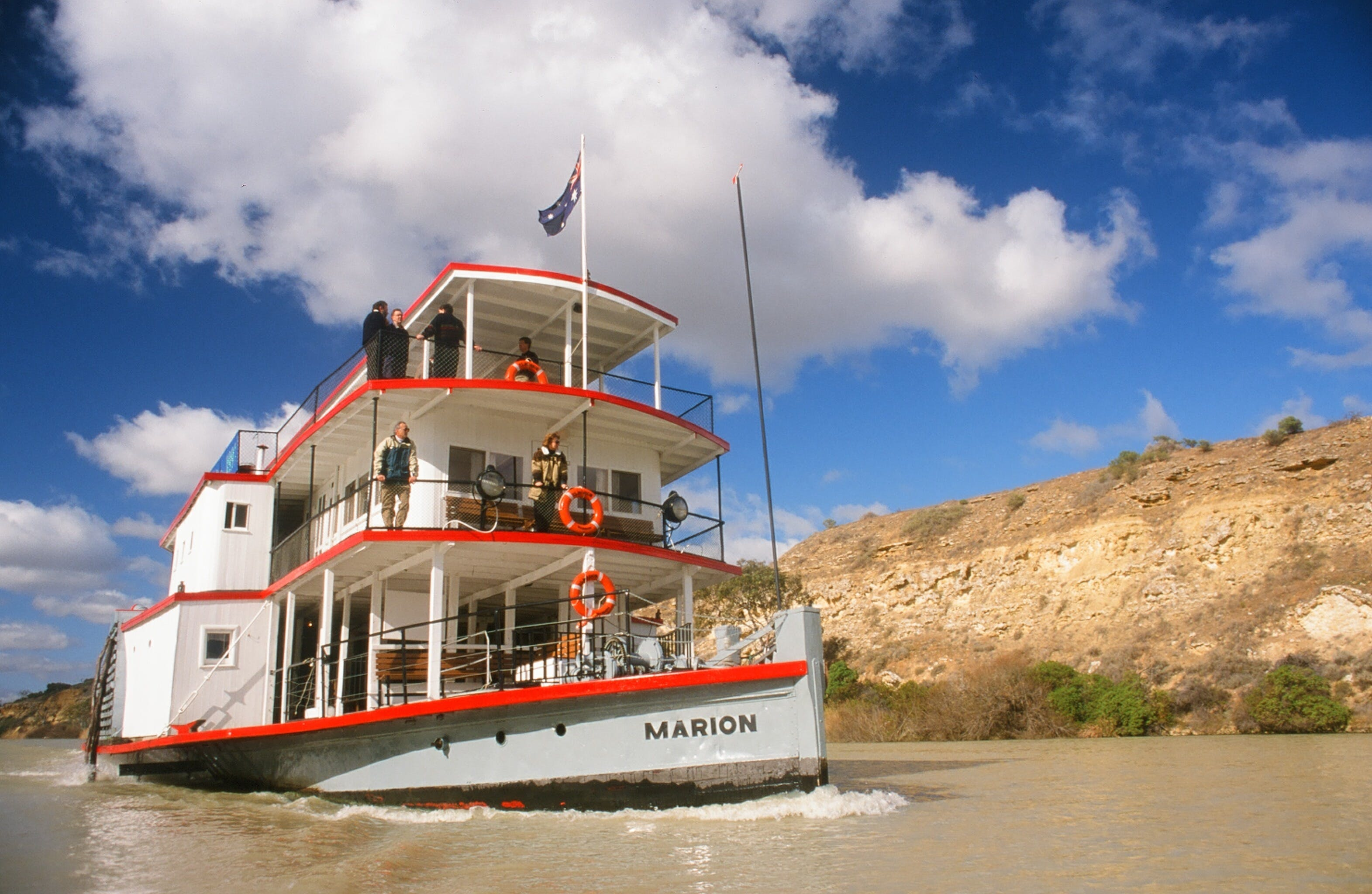 PS Marion Short Cruises - all cruises cancelled until further notice - SA Accommodation