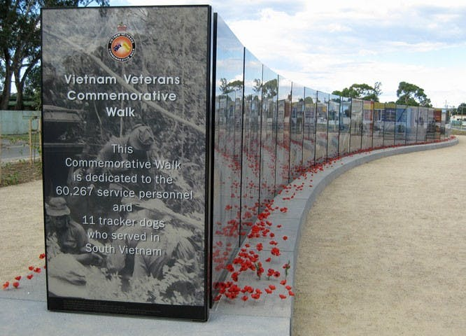 Vietnam Veterans Commemorative Walk - SA Accommodation