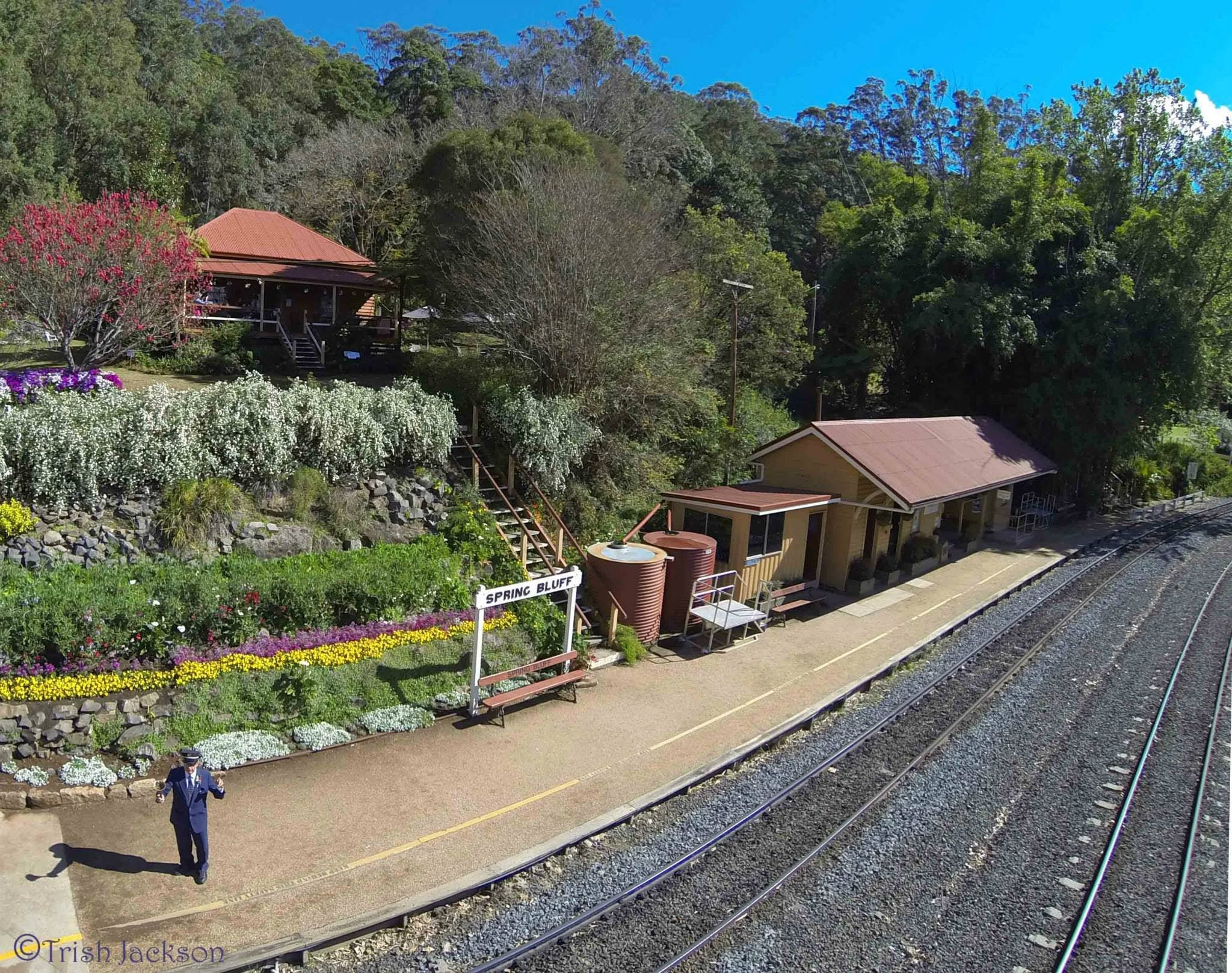 Spring Bluff Railway Station - SA Accommodation