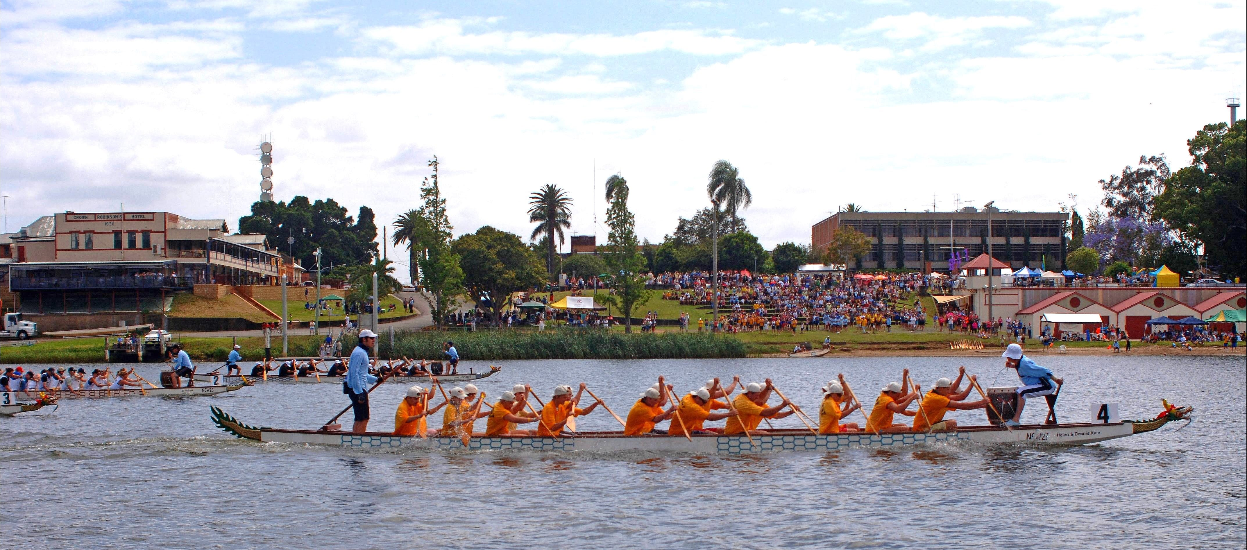 Jacaranda Dragon Boat Races - SA Accommodation