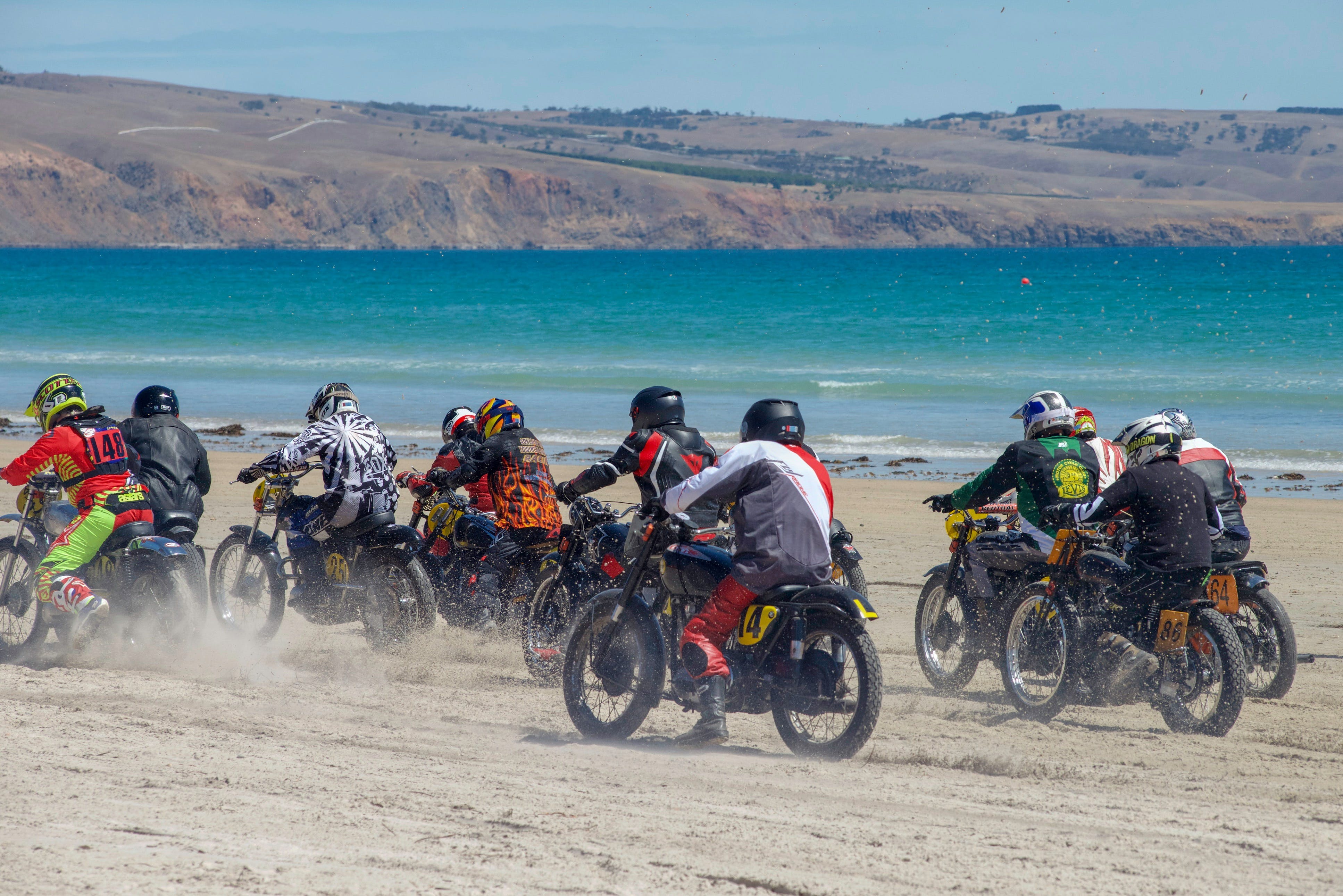 Sellicks Beach Historic Motorcycle Races - SA Accommodation