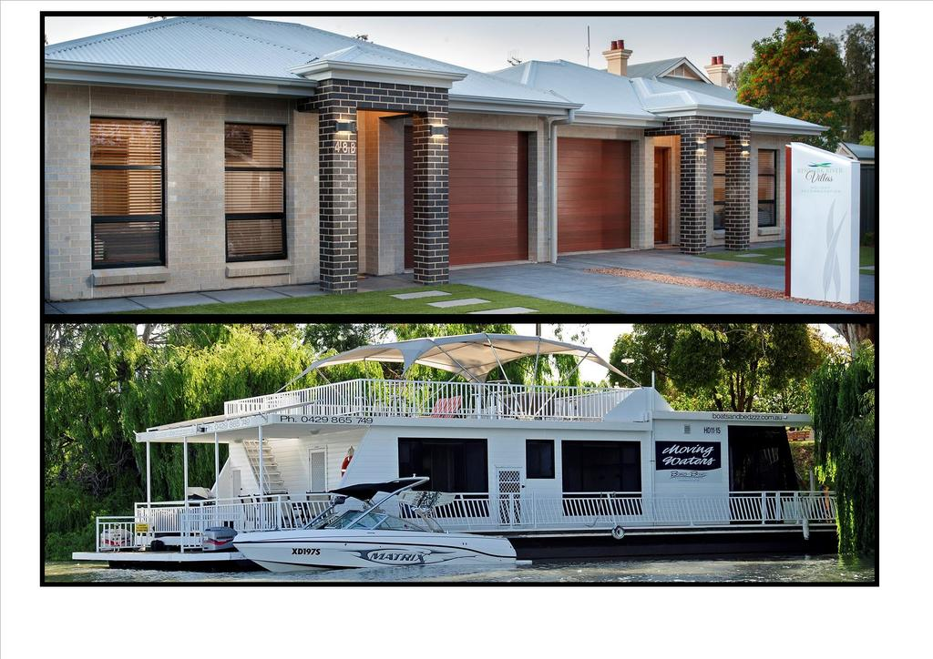 Renmark River Villas and Boats  Bedzzz - SA Accommodation